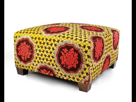 African Home Decor: African Fabrics and Upholstery