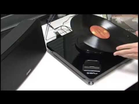45008a862df50 Toca-Discos Vinil com conversão para o formato digital diretamente para  iPad ou iPhone