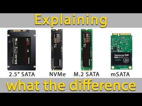 Explaining the Difference Between SSD NVMe and M2 SATA and mSATA