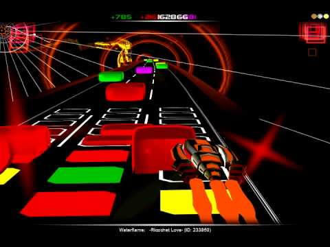 [Audiosurf] Waterflame - Ricochet Love