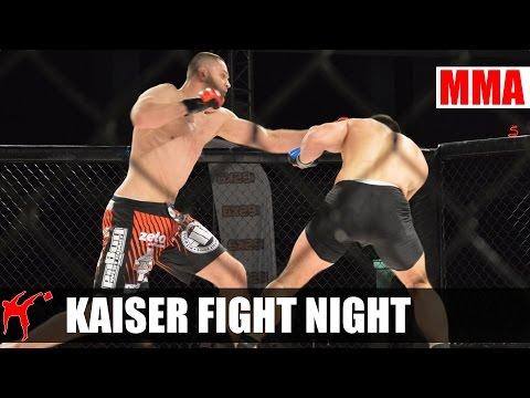 Kulisy Gali Kaiser Fight Night W Olsztynie