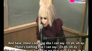 Lady Gaga - Eh Eh ( Nothing Else I Can Say ) Piano Acoustic - Lyrics on screen