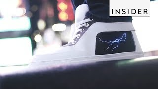 Sneakers Can Display Anything From Your Phone