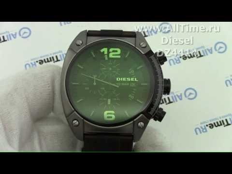 Обзор. Мужские наручные часы Diesel DZ4414 с хронографом