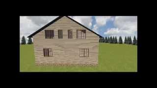 Двухквартирный дом 10х10, проект Т-2