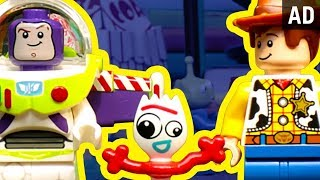 Forky's Rescue – As Told With LEGO Bricks | Disney