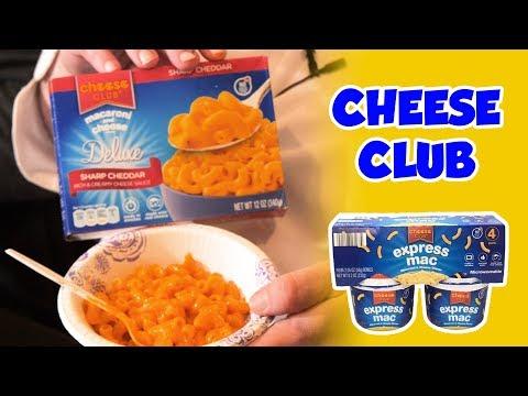 BoxMac 116: Cheese Club Express Mac, Four Cheese, and Sharp Cheddar thumbnail