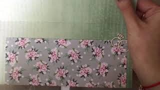 Открытка-конверт на свадьбу