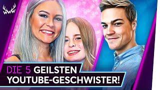 Die 5 GEILSTEN YouTube-Geschwister! | TOP 5