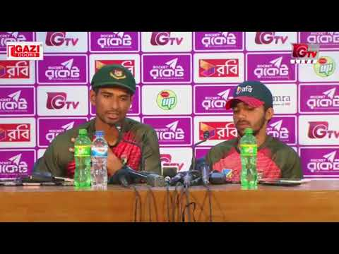 Mahmudullah & Mominul's Press Conference after Bangladesh vs Sri Lanka 1st Test Day 05