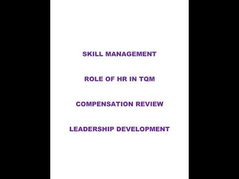 MBA Project Topic On Human Resource (HR)