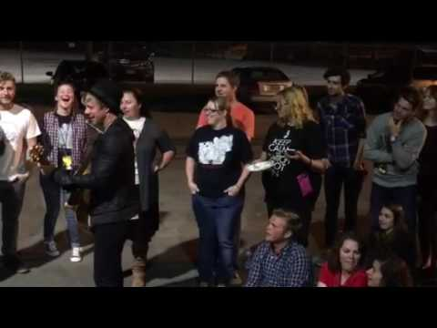 Switchfoot aftershow Raleigh, NC 2016 part 2