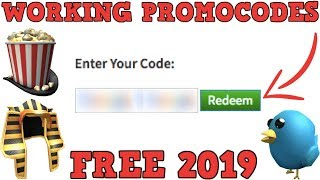 Roblox HOW TO GET 5 FREE ITEMS! (2019) (Roblox promo codes)