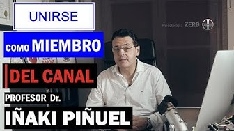 Imagen del video:  UNIRSE COMO MIEMBRO DEL CANAL