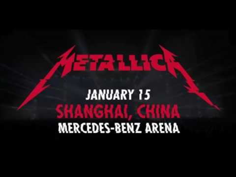 Metallica Shanghai, China 2017 - Full Concert (Free)