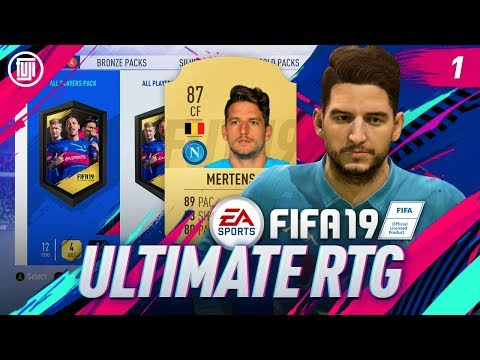 LOYALTY PACKS!!! ULTIMATE RTG - #1 - FIFA 19 Ultimate Team