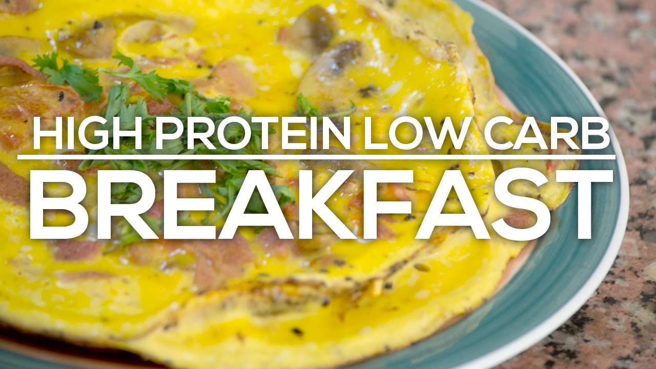 Easy High Protein Low Carb Breakfast For Bodybuilders
