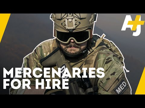 The Paid Soldiers Behind U.S. Wars | AJ+