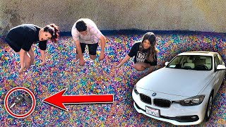 FIND THE KEY IN 50,000,000 ORBEEZ, WIN THE CAR...