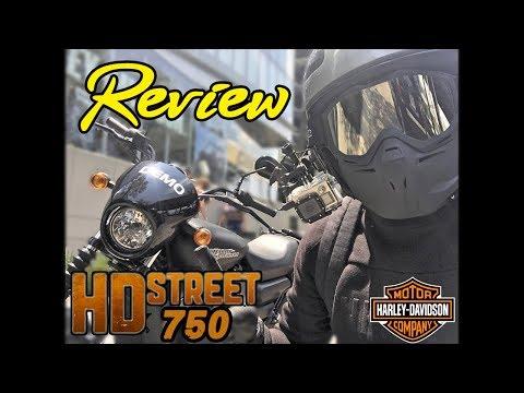 Review HD Street 750 2017 Prueba de manejo