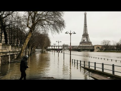 Paris: Authorities on alert after river Seine flood nears record levels
