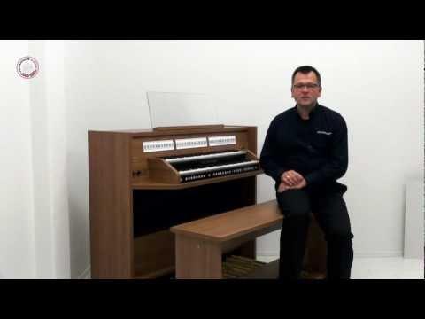 Johannus Studio 150  Basics 2: Overview of the organ