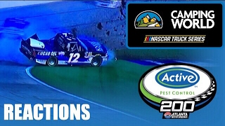 2017 NCWTS Active Pest Control 250 Reactions