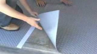 Garage Floor Mat Concrete Floor Protector Mats All Weather Flooring Motorcycle Parking Mats