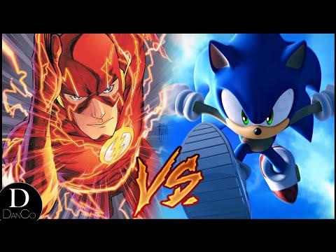 Flash VS Sonic the Hedgehog | BATTLE ARENA