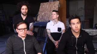 "Fall Out Boy Talk ""Death Valley"" from their new album Save Rock and Roll"