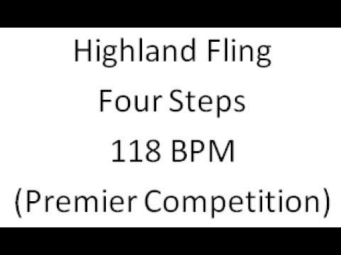 Highland Fling 4 step 118 BPM