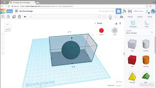Splitting an object | Learning Tinkercad from LinkedIn Learning