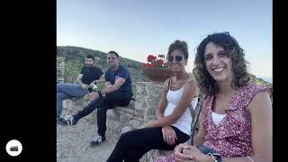 Relive video In Badolato Borgo with the Spanish Team