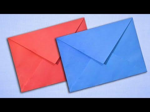 Paper Envelope Making Easy DIY Tutorial for Beginners - Paper Envelope Ideas
