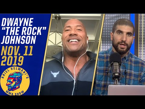 The Rock is impressed with Jorge Masvidal after win vs. Nate Diaz | Ariel Helwani's MMA Show
