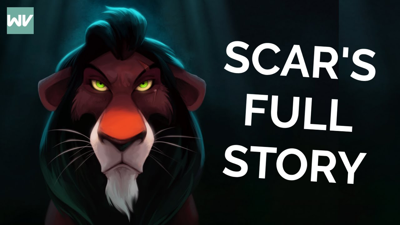 Scar Before The Lion King Full Story How He Got His Scar And Name Discovering Disney Youtube
