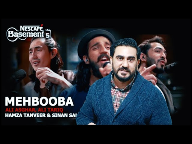 Reaction on Mehbooba | NESCAFÉ Basement Season 5 | ft. Ali Asghar, Ali Tariq