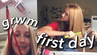 FIRST DAY OF SCHOOL GRWM (freshman)