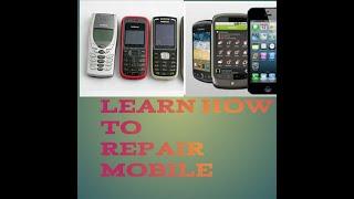 mobile repairing classes 1 //Mobile Repair Tools and Components