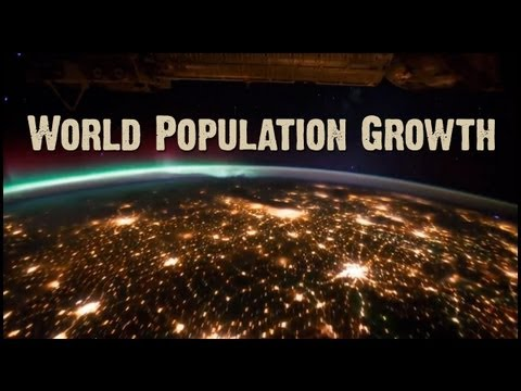 When Will We Run Out Of Space? Human Population Growth