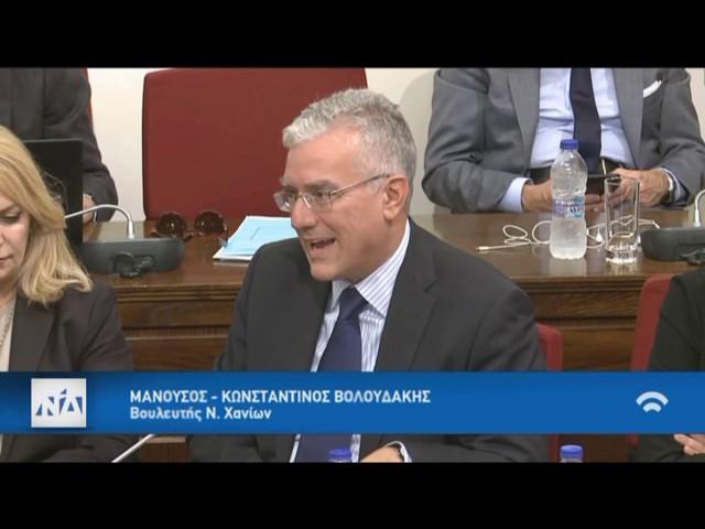 Βολουδάκης για συμφωνία Τελωνειακής Ένωσης ΕΕ - Τουρκίας στην Επ. Ευρωπαϊκών Υποθέσεων (30/10/2019)