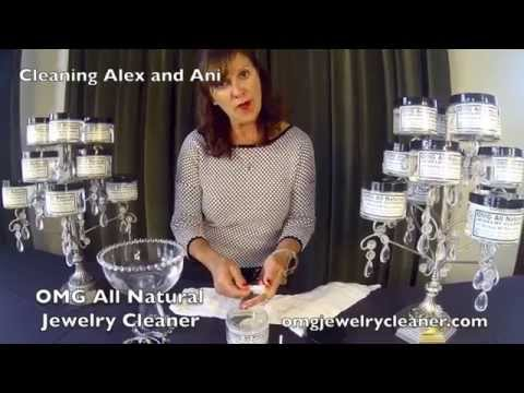 How To Clean Alex and Ani Bangles with OMG All Natural Jewelry Cleaner at home in one minute!