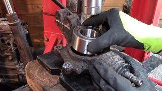 Peugeot 307 : Roulement roue AV et rotule suspension