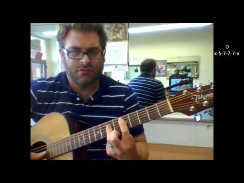 How to play Video Killed The Radio Star by The Buggles on acoustic guitar
