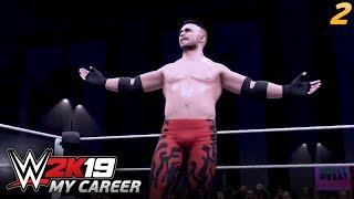 WWE 2K19 MY CAREER | #02 - Pierwsza walka na PPV!