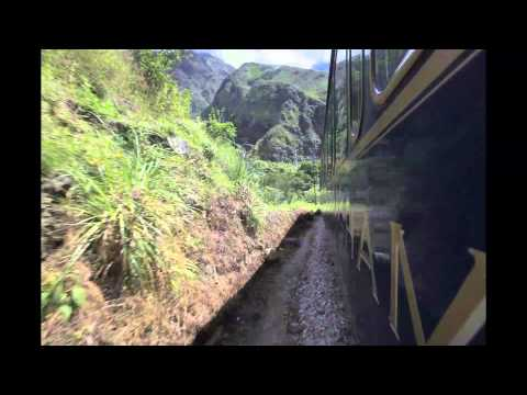 Time Lapse ride on Hiram Bingham to Machu Picchu