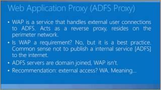 ADFS - experiências de troubleshooting