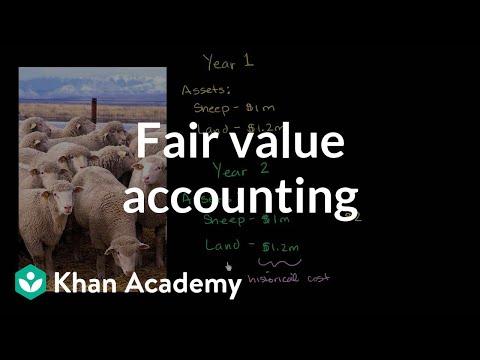 Fair value accounting | Finance & Capital Markets | Khan Academy