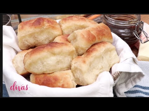 The flavor of these dinner yeast rolls is so perfectly mild. Like a really, really good white bread, which makes them perfect for making leftover ...
