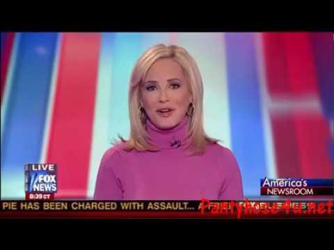 Jamie Colby black pantyhose    America s Newsroom HD2